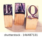 frequently asked questions... | Shutterstock . vector #146487131