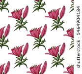 seamless pattern with colorful...   Shutterstock .eps vector #1464904184