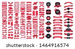 beautiful ribbons  tags and... | Shutterstock .eps vector #1464916574