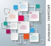 infographic design with... | Shutterstock .eps vector #146492369
