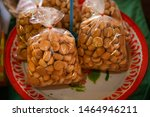 traditional thai dessert in... | Shutterstock . vector #1464946211