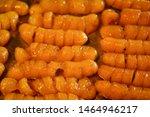 traditional thai dessert in... | Shutterstock . vector #1464946217