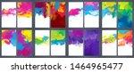 huge set series of shiny vector ... | Shutterstock .eps vector #1464965477