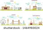 business city in england....   Shutterstock .eps vector #1464983024