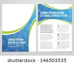 vector business brochure  flyer ... | Shutterstock .eps vector #146503535
