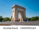 triumphal arch  eastern... | Shutterstock . vector #1465050164