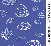 collection of sea marine ink...   Shutterstock .eps vector #1465073561