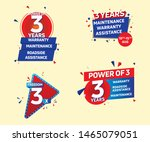 offer unit 3 years free...   Shutterstock .eps vector #1465079051