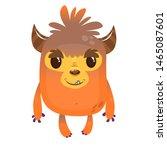 Stock photo funny cartoon bigfoot or sasquatch or yeti illustration 1465087601
