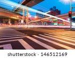junction with light in shanghai | Shutterstock . vector #146512169