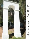 Old Historical Slave Bell At A...