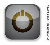 insulated glass vector button... | Shutterstock .eps vector #146512967