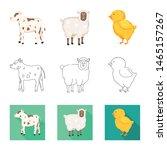 vector illustration of breeding ... | Shutterstock .eps vector #1465157267