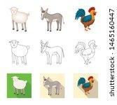 vector illustration of breeding ... | Shutterstock .eps vector #1465160447