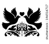 vector wedding design element. | Shutterstock .eps vector #146516717
