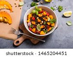 Healthy Salad With Roasted...