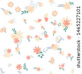 beautiful pattern with simple... | Shutterstock .eps vector #1465227101