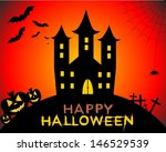 happy halloween | Shutterstock . vector #146529539