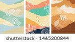 japanese template with... | Shutterstock .eps vector #1465300844
