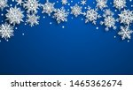 christmas illustration of white ... | Shutterstock .eps vector #1465362674