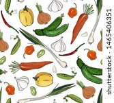harvest products seamless... | Shutterstock .eps vector #1465406351