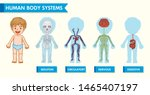 scientific medical illustration ... | Shutterstock .eps vector #1465407197