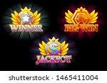 casino icons. winner  jackpot...
