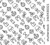 triathlon seamless pattern with ... | Shutterstock .eps vector #1465430321