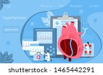 health concept of hypotension...   Shutterstock . vector #1465442291