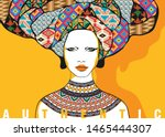 conceptual fashionable... | Shutterstock . vector #1465444307