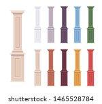 Column Baluster Decorative Set. ...