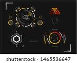 hud  aim and ui set elements ...