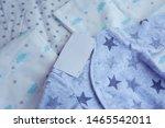 folded cozy fleece baby boy... | Shutterstock . vector #1465542011