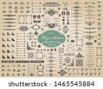 mega collection of vector... | Shutterstock .eps vector #1465545884