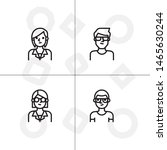 avatar  human  people lineal... | Shutterstock .eps vector #1465630244