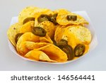 Nacho Chips With Peppers