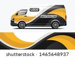company car wrap. wrap design... | Shutterstock .eps vector #1465648937