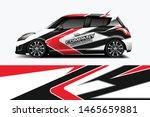car wrap graphic racing... | Shutterstock .eps vector #1465659881