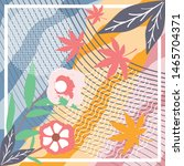 abstract silk fabric art trendy ...   Shutterstock .eps vector #1465704371