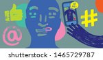 colorful illustration showing... | Shutterstock .eps vector #1465729787