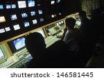 rear view of operators in... | Shutterstock . vector #146581445