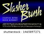 slasher brush is a duotone... | Shutterstock .eps vector #1465897271