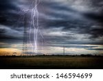 energy distribution network in...   Shutterstock . vector #146594699