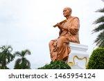 lord buddha. golden statue.... | Shutterstock . vector #1465954124