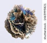 3d abstract distorted strange... | Shutterstock . vector #1465995821