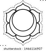 sacral chakra coloring...   Shutterstock .eps vector #1466116907
