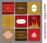 set of asian traditional art...   Shutterstock .eps vector #146615294