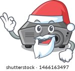 santa projector toy in a...   Shutterstock .eps vector #1466163497