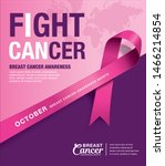breast cancer awareness month... | Shutterstock .eps vector #1466214854