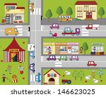 illustration of fun cartoon... | Shutterstock . vector #146623025